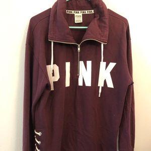 vs pink hoodies